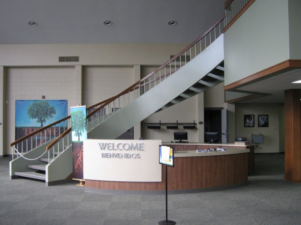 Elkhart Calvary Assembly of God - Interior Shot of Guest Relations